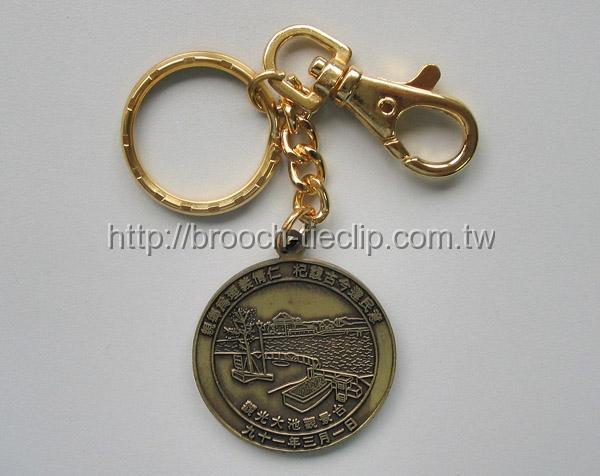 龍潭大池古青銅鑰匙圈-3
