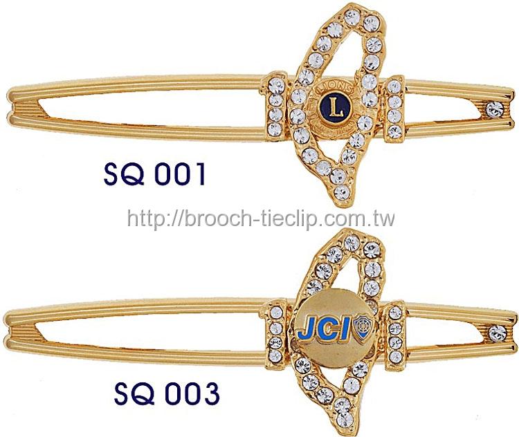 領帶夾SQ-001∕SQ-003